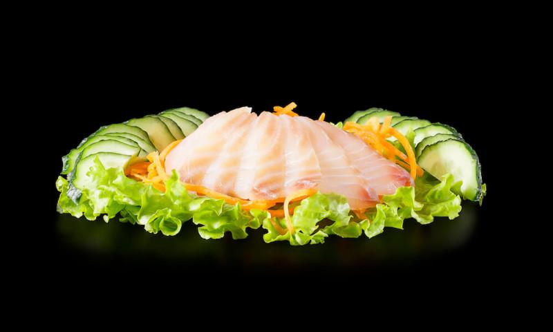 Сашими из морского окуня