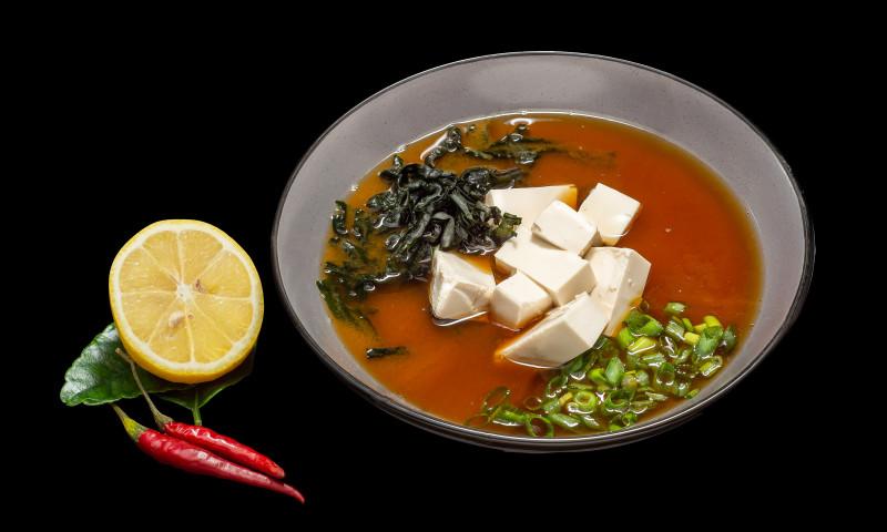 Постный Мисо-суп