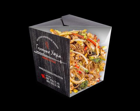 Рисовая лапша с овощным миксом