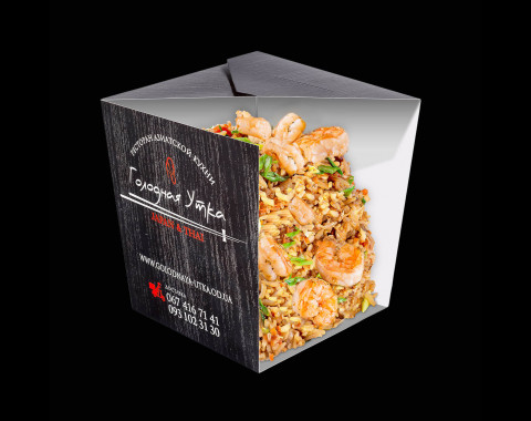 Рис с тигровой креветкой и овощами