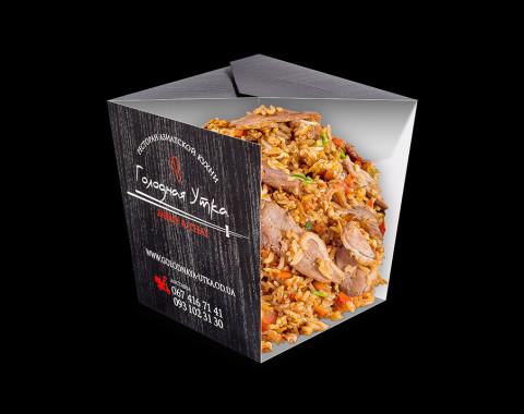 Рис с уткой